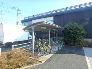 ガーデンコート 駐輪場